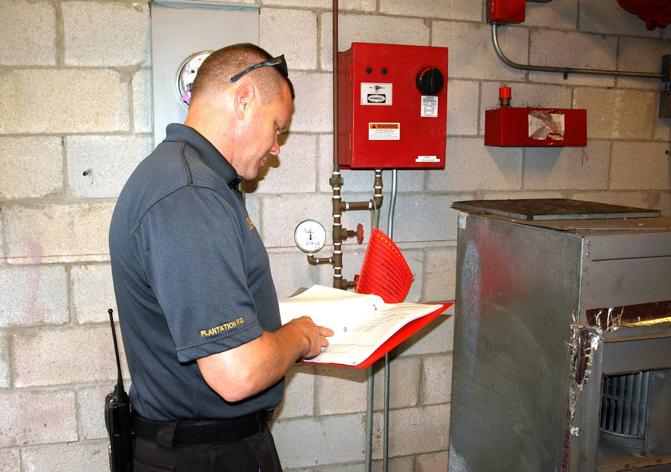 fire and safety inspections