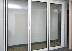 Aluminium FIRE RATED DOOR
