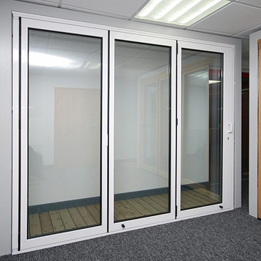 Aluminium FIRE RATED DOOR