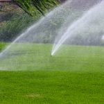 Irrigation system in Dubai