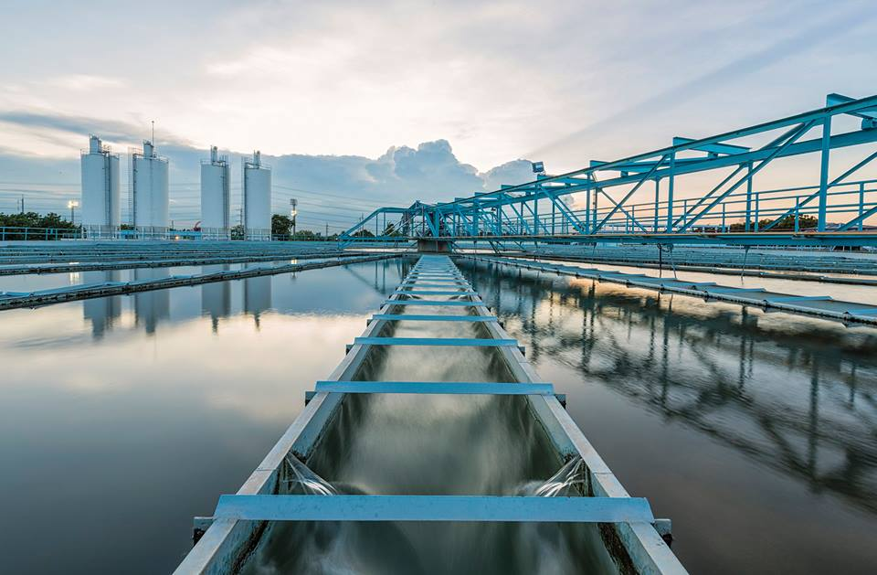 wastewater treatment.