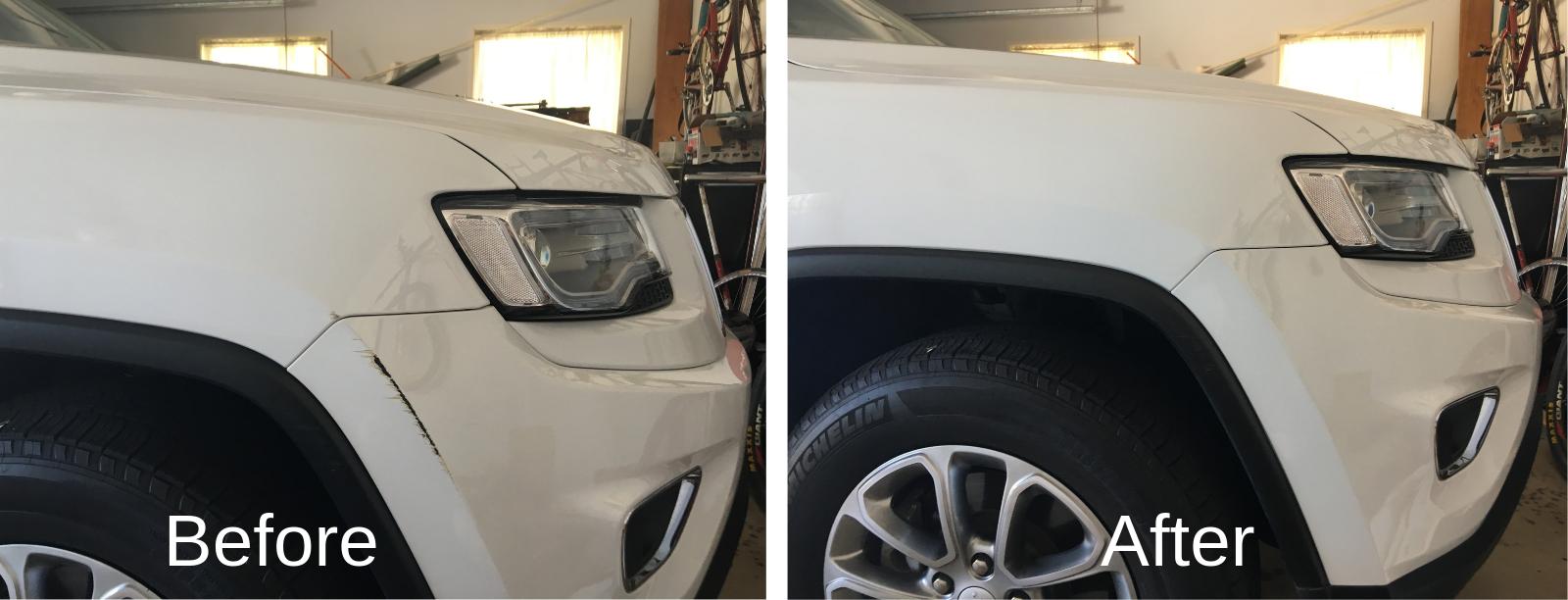 bumper repairs in Sydney